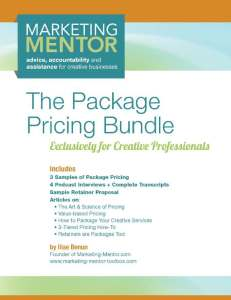 Package Pricing - cover