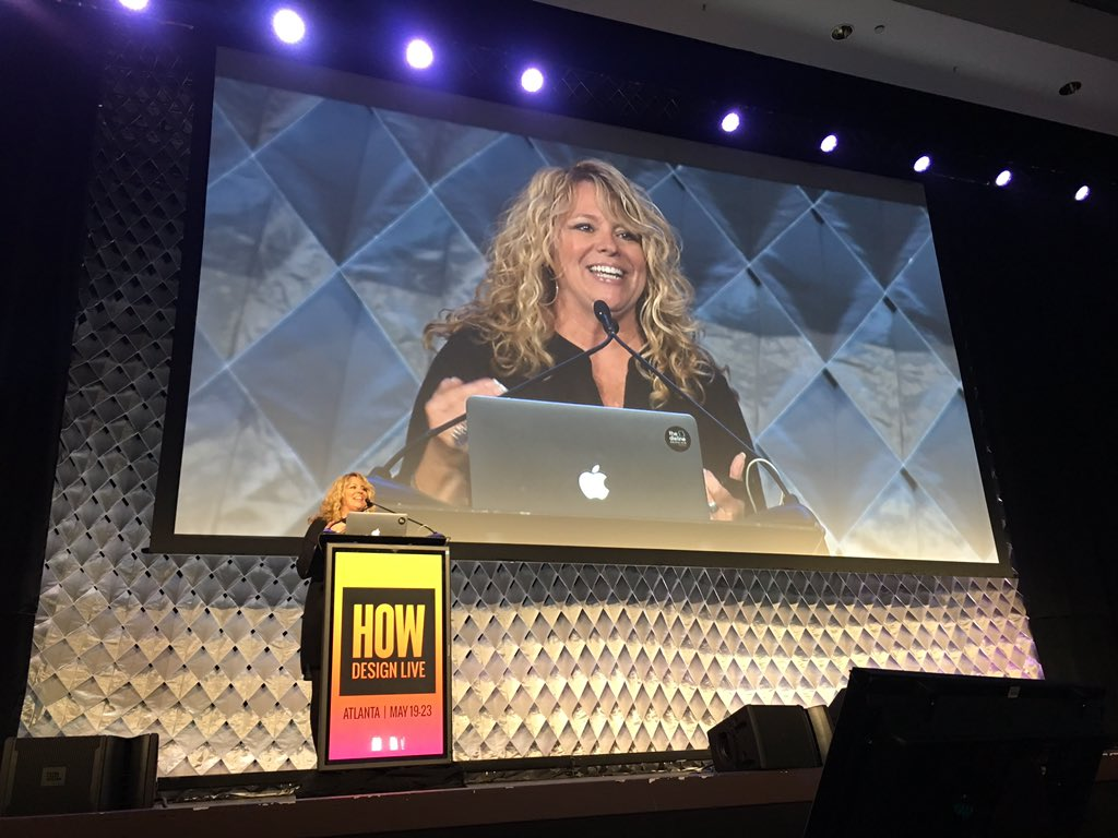 Amy Conover's welcome to HOW Design Live
