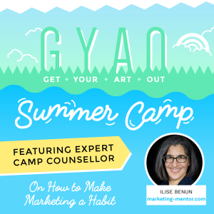Get Your Art Out Summer Camp with Cat Neligan (I'm one of the camp counselors!)