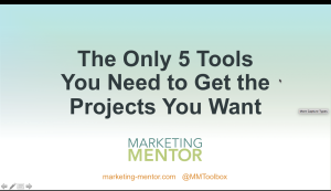 The Only 5 Tools You Need