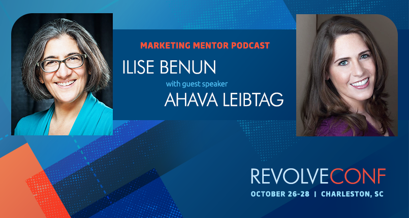 Podcast interview with Revolve speaker, Ahava Leibtag of Aha Media